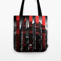 milan Tote Bags featuring Milan by James Campbell Taylor
