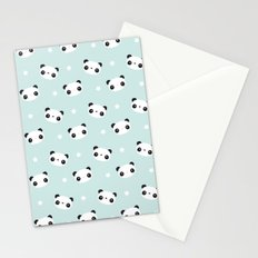 Panda in love  Stationery Cards