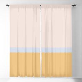 Summer Dream Color Block Blackout Curtain
