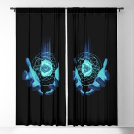 Virtual Reality Check Blackout Curtain