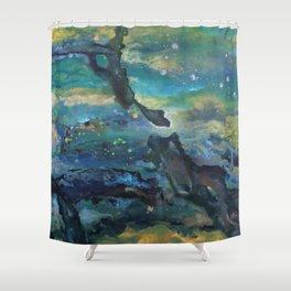 Epoch Triptych 1 Shower Curtain