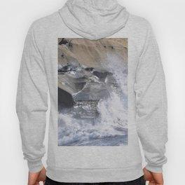 SPLASHING OCEAN WAVE Hoody