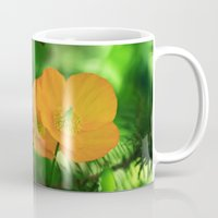 poppies Mugs featuring Poppies by Falko Follert Art-FF77