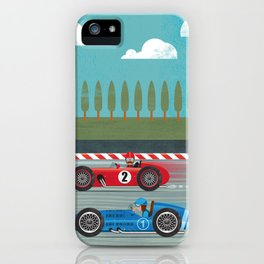 Retro Racing iPhone Case