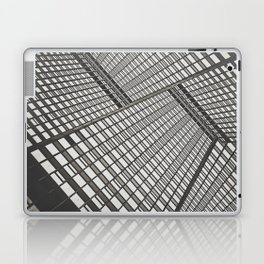 Sky scrapers blocking out the sky Laptop & iPad Skin
