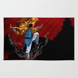 Shaolin Kung Fu Rug