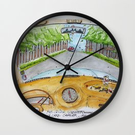 5 O'Clock Somehwere - Lake Cavalier Wall Clock