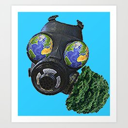 World War Green Art Print