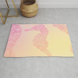 Pink Seahorse Rug