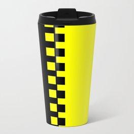 Yellow & Black Travel Mug