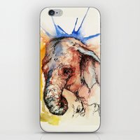africa iPhone & iPod Skins featuring Africa by Abigail Leigh