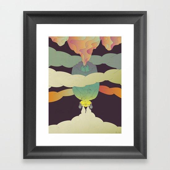 Stoner Bat Framed Art Print