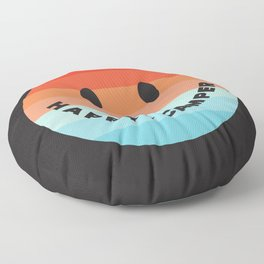 HAPPY CAMPER Floor Pillow