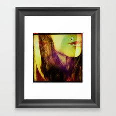 Lips Framed Art Print