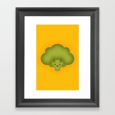 Broccoli Framed Art Print