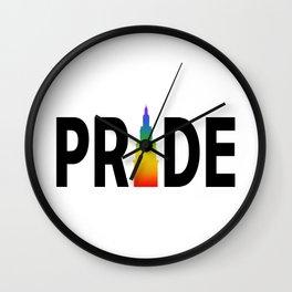 Cleveland Gay Pride Terminal Tower Wall Clock