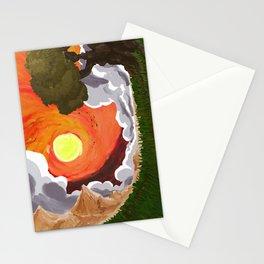 Ocaso en Campo Stationery Cards