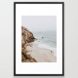 malibu coast / california Framed Art Print