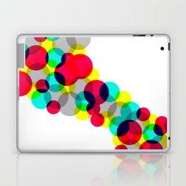 Neon Bubbles Laptop & iPad Skin