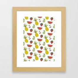 Fruits of Summer Framed Art Print