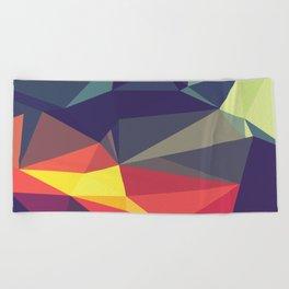 Flash Of Color Beach Towel