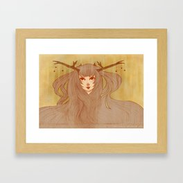 Woodland Spirit Framed Art Print