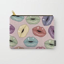 Lips pattern Carry-All Pouch