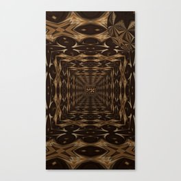 Sequential Baseline Tunnel 2 Canvas Print