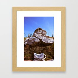 Switch to sandwich Framed Art Print