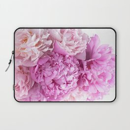 Pink Peonies Shabby Chic Cottage Peonies Laptop Sleeve