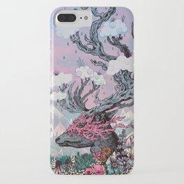 Journeying Spirit (deer) sunset iPhone Case