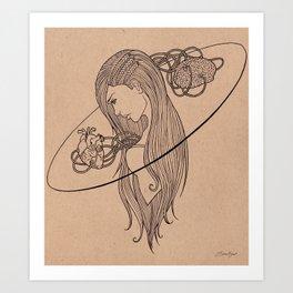 Heart and Mind Art Print