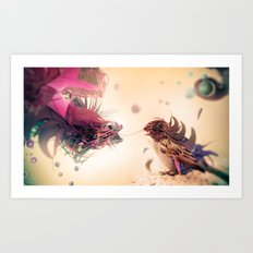 The Pathogen Art Print
