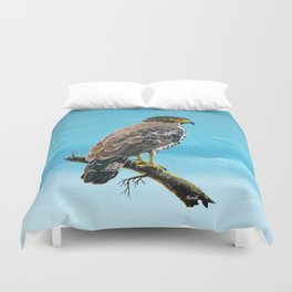 Congo Serpent Eagle Duvet Cover