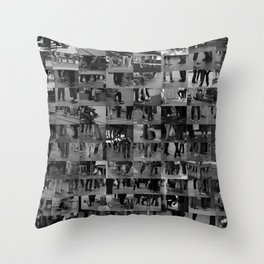 Wander world Throw Pillow