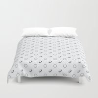 macaroons Duvet Covers featuring Macaroons by annies