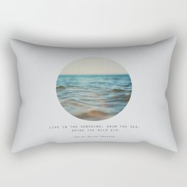 Swim The Sea #2 Rectangular Pillow