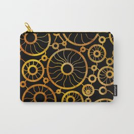 Sunflower Field Pattern Carry-All Pouch