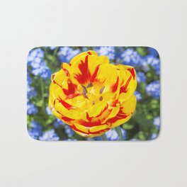Floral Patterns. Bath Mat
