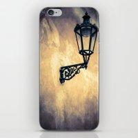 lantern iPhone & iPod Skins featuring Lantern by Maria Heyens