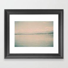 Lake Koocanusa Framed Art Print