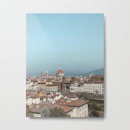 Florence Skyline | Architecture of Florence | Wanderlust city architecture photo art | Tuscany Art Print Metal Print