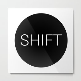 shift typewriter key [ 2 ] Metal Print