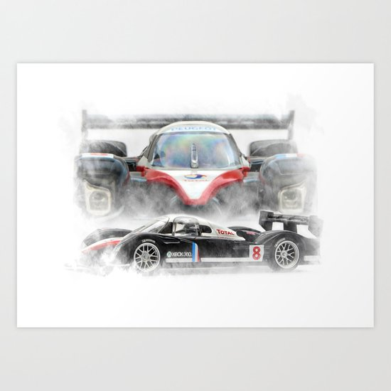 Peugeot 908 Art Print