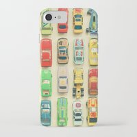 men iPhone & iPod Cases featuring Car Park by Cassia Beck