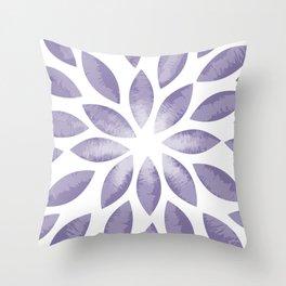 New Flower Burst Throw Pillow