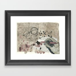 places to dream of Framed Art Print