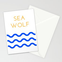 Sea Wolf Stationery Cards