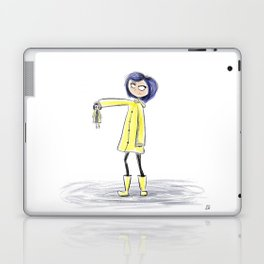Coraline Sketch Laptop & iPad Skin