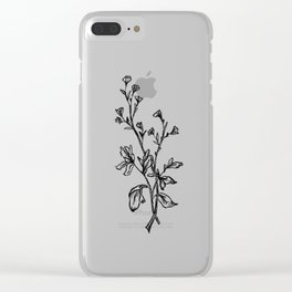 Buttercups Clear iPhone Case